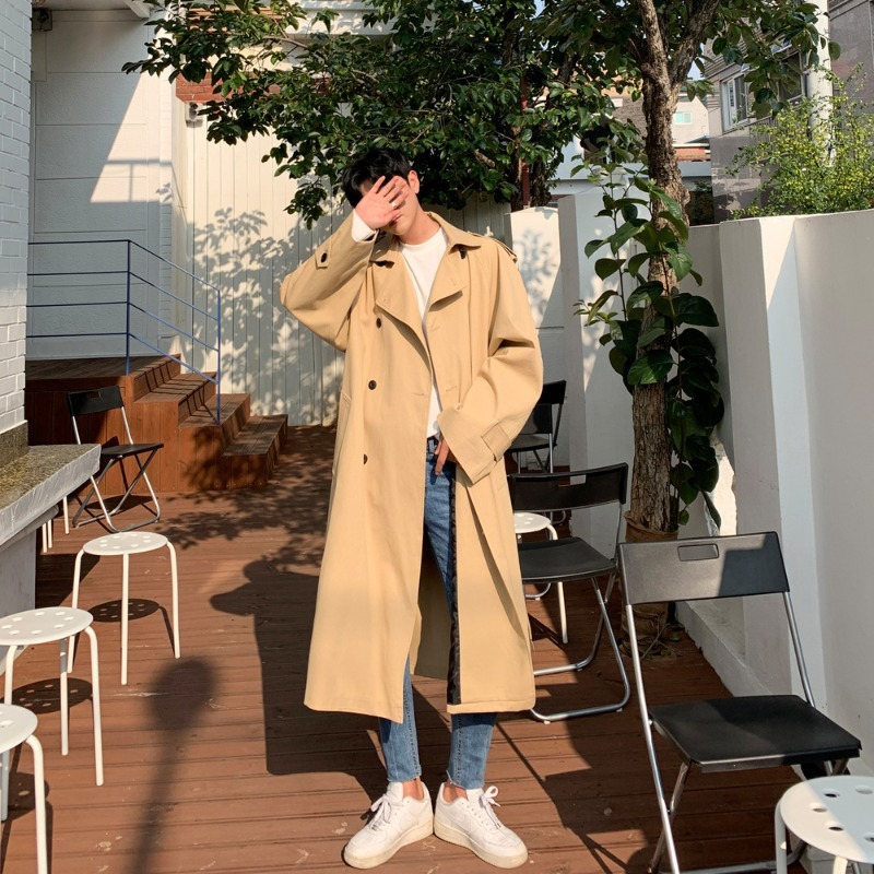 BL Lope Overfit Trench Coat (3color)