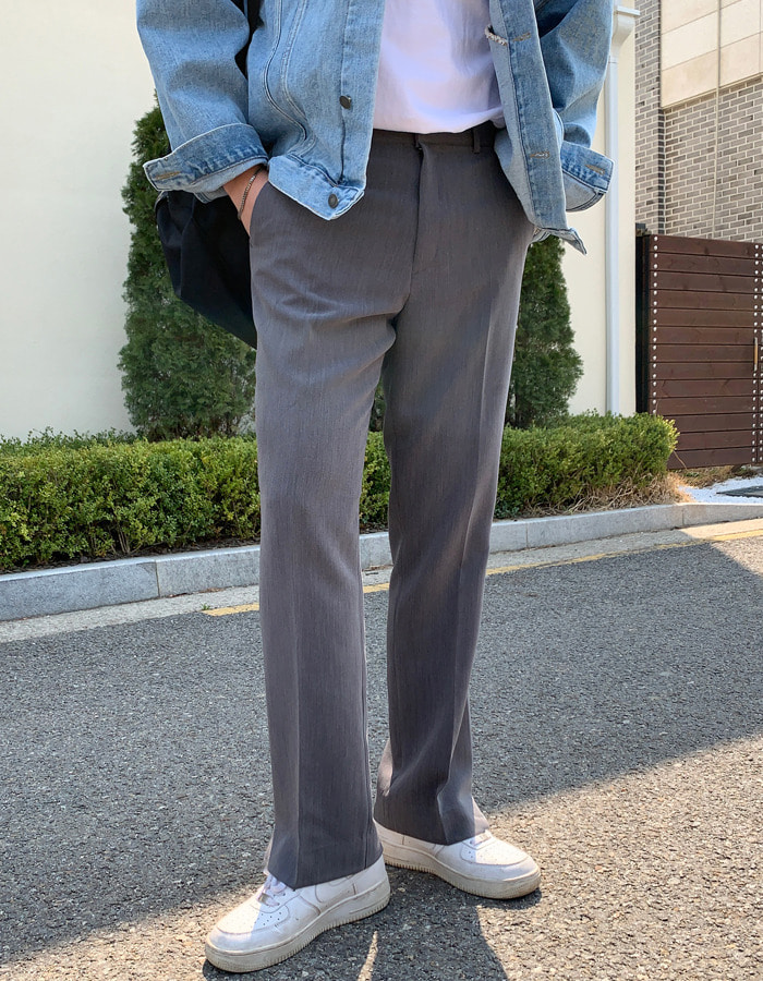 SSS Twin Semi Wide Slacks (2color)