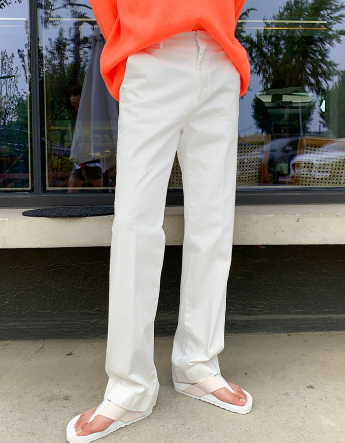 FL Pure Cotton Long Wide Pants