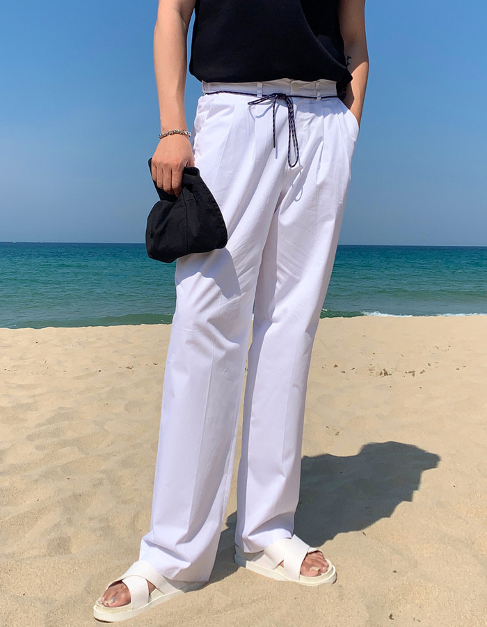 DT just rope pants (3color)